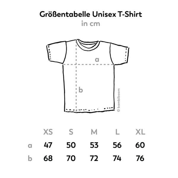 bambiboom Größentabelle Unisex T-Shirt