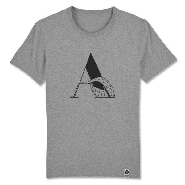 Ameisenbär, bambiboom Typo T-Shirt ABC der Tiere
