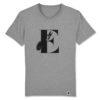 Eichhörnchen, bambiboom Typo T-Shirt ABC der Tiere