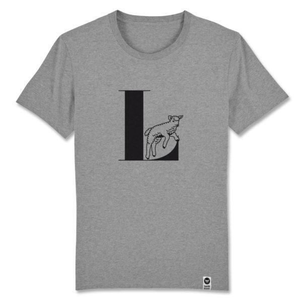 Lamm, bambiboom Typo T-Shirt ABC der Tiere