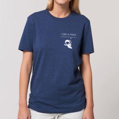 bambiboom Unisex Männer T-Shirt Mondmann