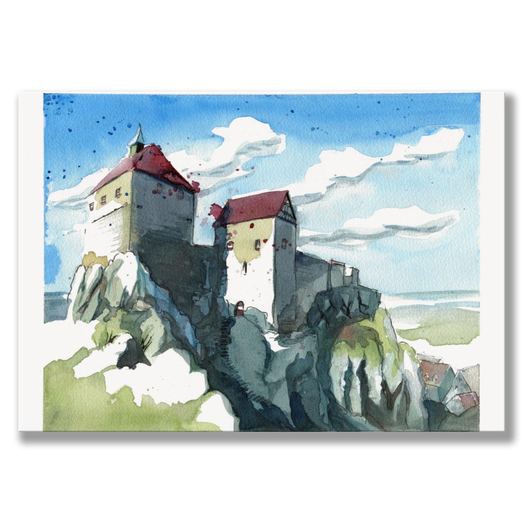 Kunstdruck Hohenstein