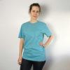 Love Life, Unisex T-Shirt, Farbe Teal Monstera